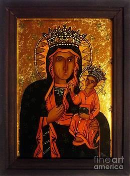 Black Madonna from Kaczyka by Ionela Marin