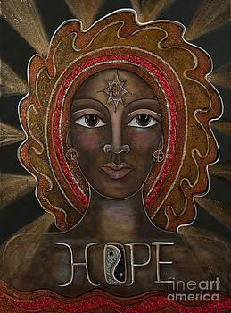 Black Madonna - Hope by Deborha Kerr