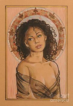 Black Madonna by Ottilia Zakany