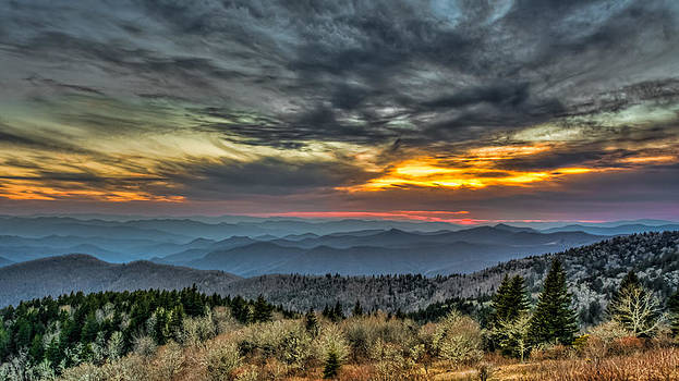 Black Mountain Sunset by Brian Young
