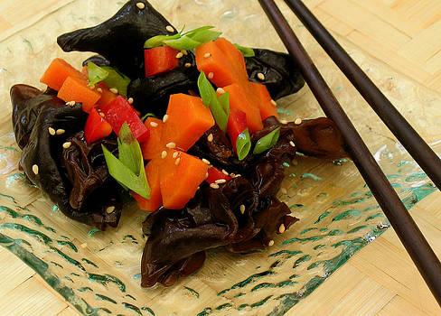 James Temple - Black Mushroom Salad