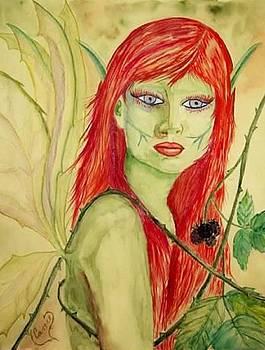 Black Raspberry Faerie by Carrie Viscome Skinner
