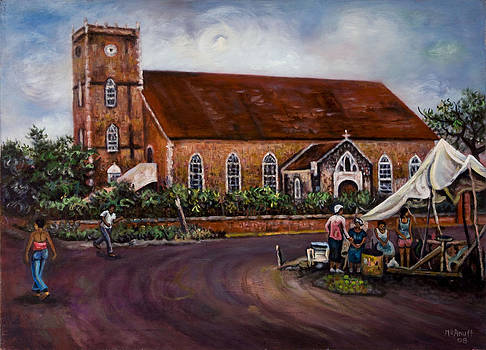 Black River Parish Church by Ewan  McAnuff