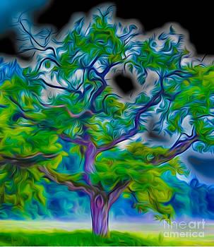 Algirdas Lukas - Black Sky Tree