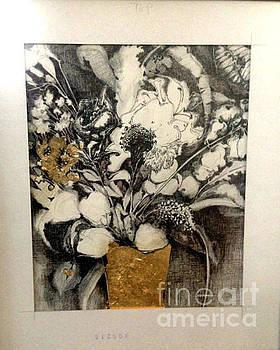 Black White and Gold by Kathleen Hoekstra