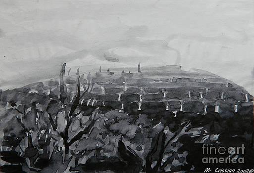 Black winter hill by Mada Lina