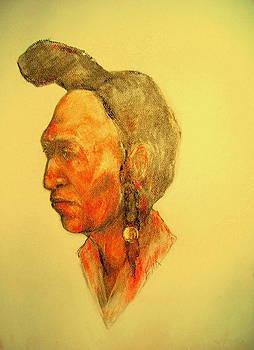 Blackfoot Medicine Man by Johanna Elik
