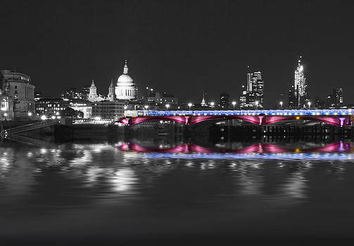 David French - Blackfriars Bridge Thames London