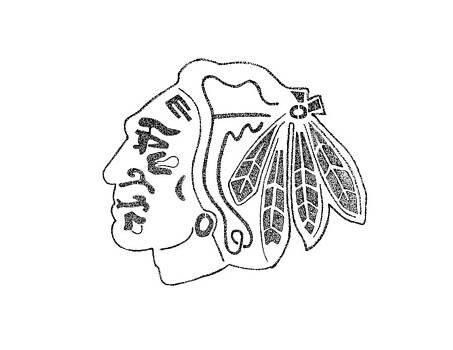 Blackhawk logo by Joe Rozek