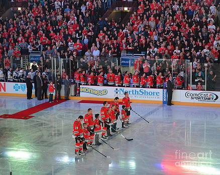 Blackhawks Fight Cancer by Melissa Goodrich