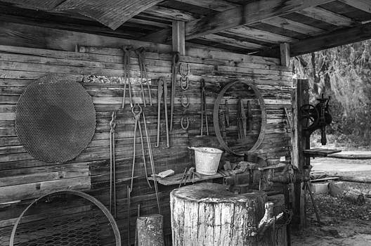 Lynn Palmer - Blacksmith Shed and Tools
