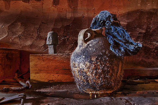Blacksmith's Tallow Jug by Robert Gaines