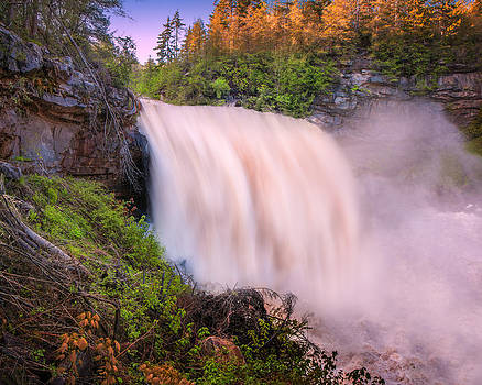 Mary Almond - Blackwater Falls Spring Thaw