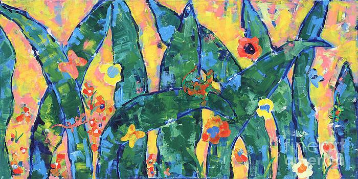 Blades Of Grass by Paula Drysdale Frazell
