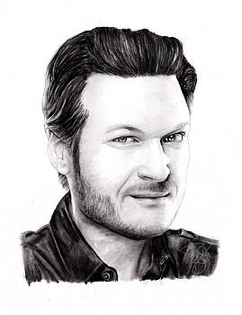 Blake Shelton by Rosalinda Markle