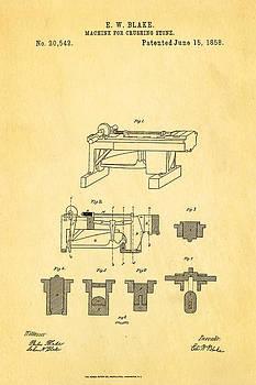 Ian Monk - Blake Stone Crushing Patent 1858