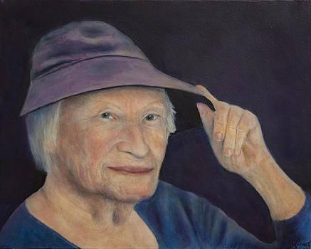 Blanche's Purple Hat by Joan Glinert