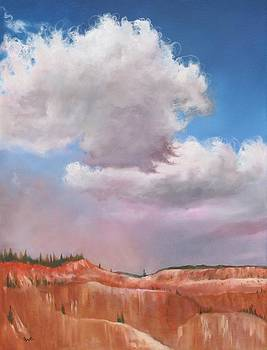 Blanket Over Bryce by Eve  Wheeler