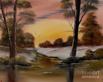 Blanketed Dawn 2 by Cynthia Adams