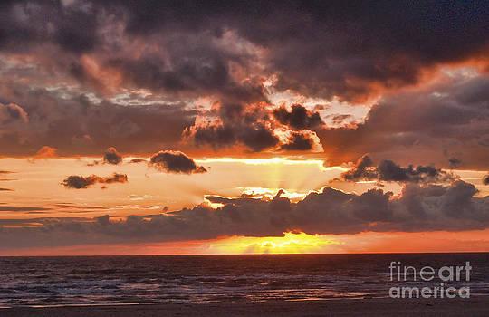 Blazing Sunset by Priit Einbaum