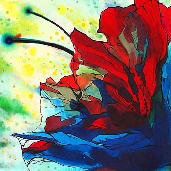 Bleeding Flower by Andrea Carroll