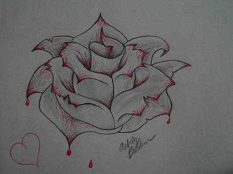 Bleeding Rose by Ashley O'Brien