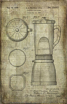 Blender Patent by Caffrey Fielding