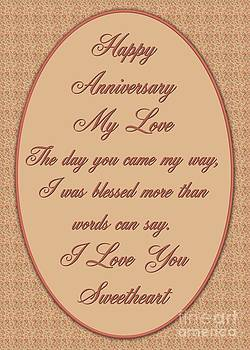 JH Designs - Blessed Anniversary Roses