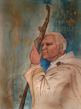 Blessed John Paul II - Carmelite Devotion by Laura LaHaye