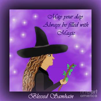 Eva Thomas - Blessed Samhain Witch