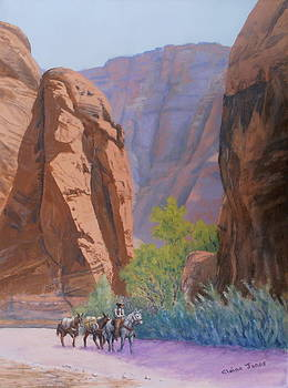 Blessed Shade in the Canyon by Elaine Jones