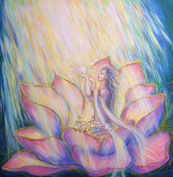 Blessing of the flowering light by Sara Ogi