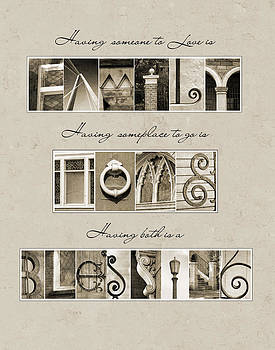 Kathy Stanczak - Blessings Alphabet Art