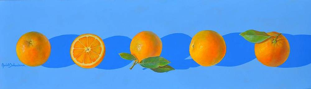 Bleu d'Orange by Muriel Dolemieux