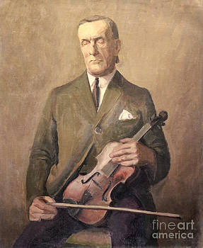 Art By Tolpo Collection - Blind Violinist 1929