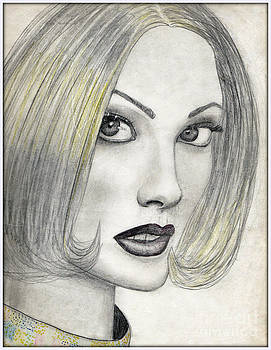 Blonde Lady by Angie Staft