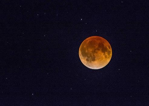 Blood Moon and Stars by Shey Stitt
