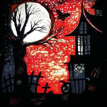 Blood Moon by Denisse Del Mar Guevara
