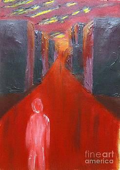 Bloody Notstalgia by Safa Al-Rubaye