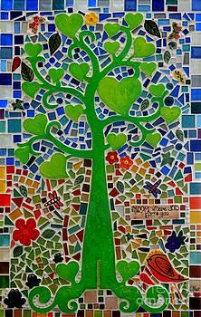 Caroline Street - Mosaic Tree