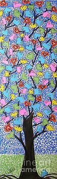 Bloomin Hearts by Marcia Weller-Wenbert