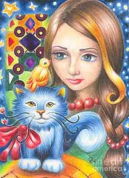 Blooming Blue by Olga Ziskin