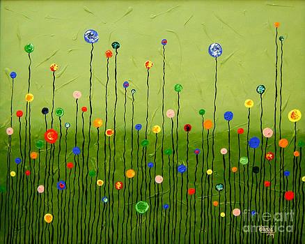 Blooming Flowers by Divya Kakkar