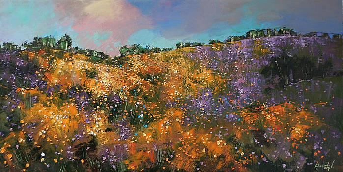 Blooms in June by Anastasija Kraineva