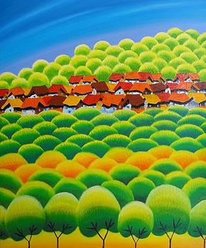 Blossom Season by Tang Hong Lee