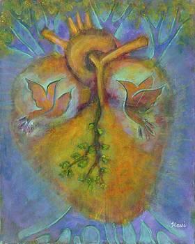 Blossoming Heart by Havi Mandell