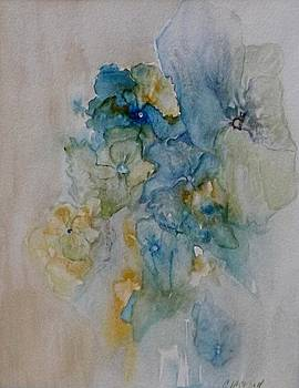 Blossoming in Blue by Carolyn Jackson