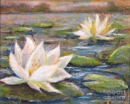 Blossoming Lilies by Beth Fischer