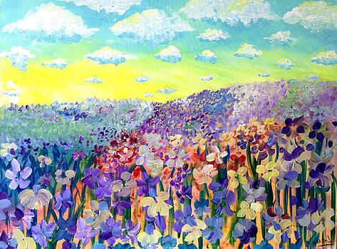 Patricia Lazaro - Vortex Gladiolus Landscape