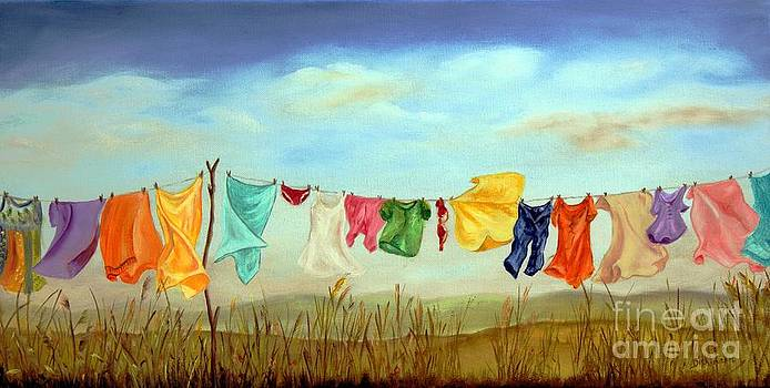 Blowing in the Breeze by Anna-maria Dickinson